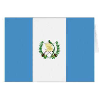 Carte Drapeau du Guatemala