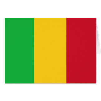 Carte Drapeau du Mali