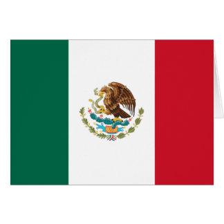 Carte Drapeau du Mexique