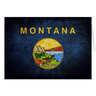 Carte Drapeau du Montana