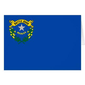 Carte Drapeau du Nevada