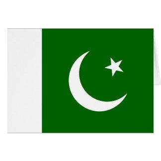 Carte Drapeau du Pakistan