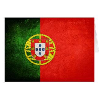 Carte Drapeau du Portugal