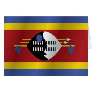 Carte Drapeau du Souaziland