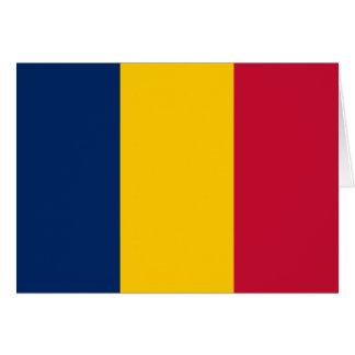 Carte Drapeau du Tchad