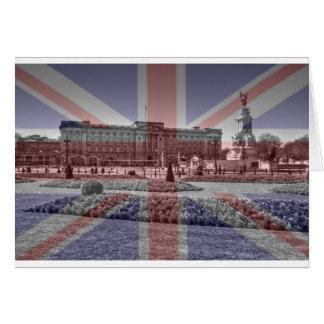 Carte Drapeau d'Union Jack de Buckingham Palace
