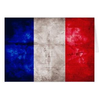 Carte Drapeau français