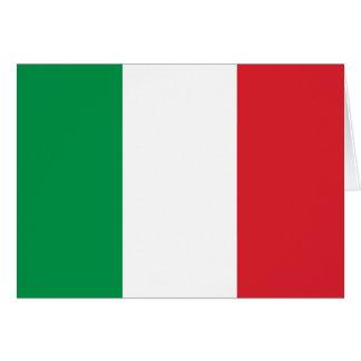 Carte Drapeau italien