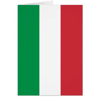 Carte Drapeau italien - drapeau de l'Italie - l'Italie