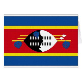 Carte Drapeau national du Souaziland