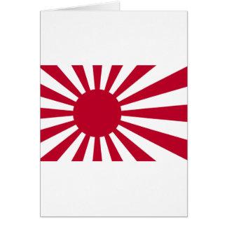 Carte Drapeau naval du Japon - drapeau japonais de