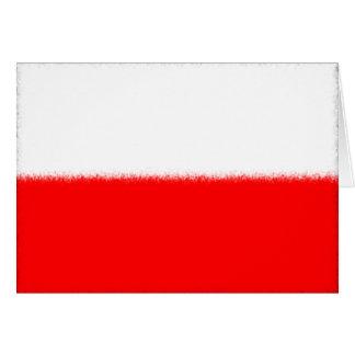 Carte Drapeau polonais