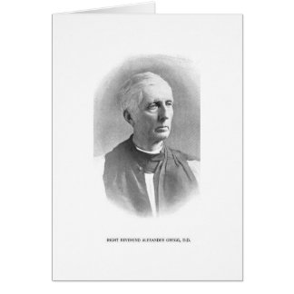 Carte Droite. Rev. Alexandre Gregg