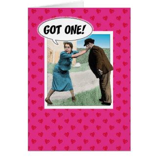 Carte drôle de félicitations de fiançailles