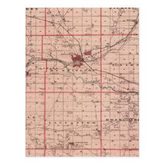 Carte du comté de Huntington