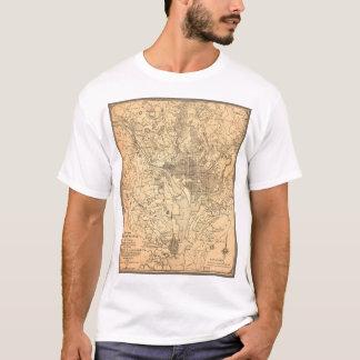 Carte du District de Columbia (1892) T-shirt