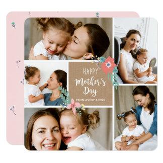Carte du jour de mère de photo du métier 5 de