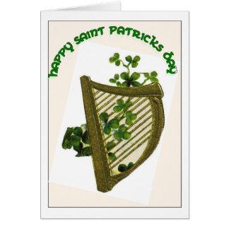 Carte du jour de Patrick de saint