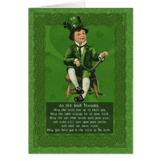 Carte du jour de Patrick de saint, Celt de cru de