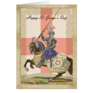 Carte du jour de St George, carda de St George