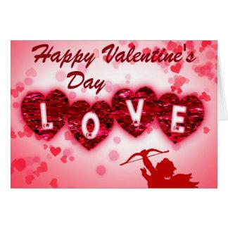 Carte du jour de Valentin