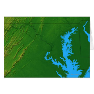 Carte du Maryland 2