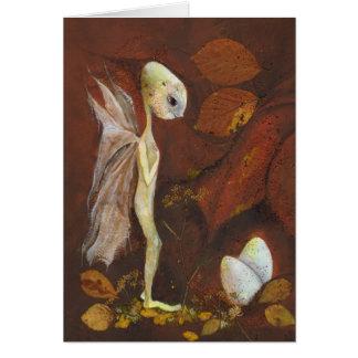 Carte du nid de l'automne