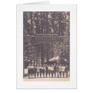 Carte du parc national Ca de Yosemite de cari de