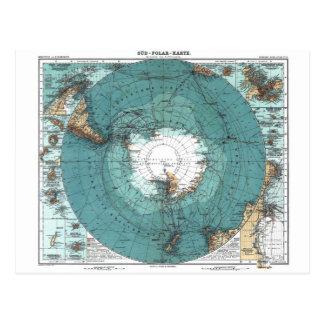 Carte du Pôle du sud
