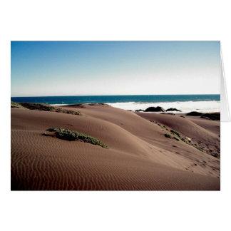 """Carte """"Dunes """""""