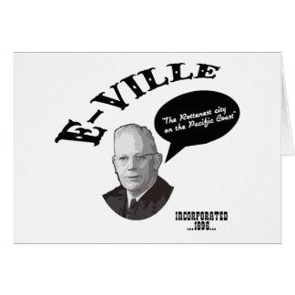 Carte E-Ville - Emeryville la Californie