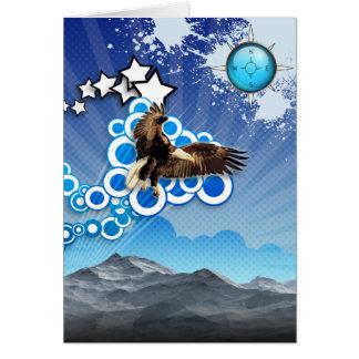 Carte Eagle de montée