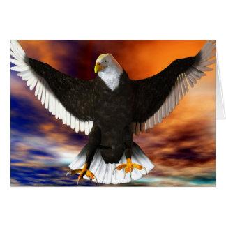 Carte Eagle foncé