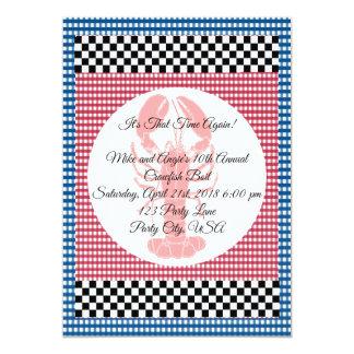 Carte Ébullition bleue et rouge de damier de guingan