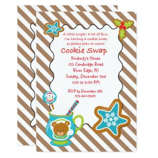 Carte Échange chaud de biscuit de Cocos et de