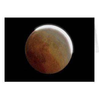 Carte Éclipse lunaire