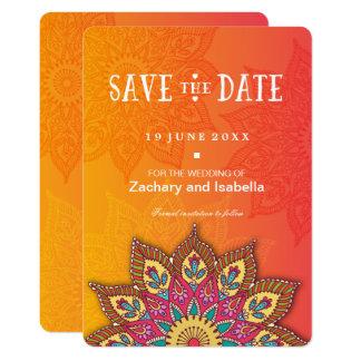 Carte Économies de mandala la date