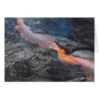 Carte Écoulement de lave de Kilauea