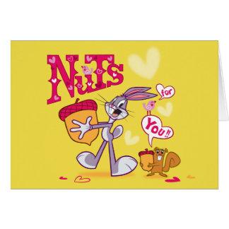 Carte Écrous de Bugs Bunny | pour vous