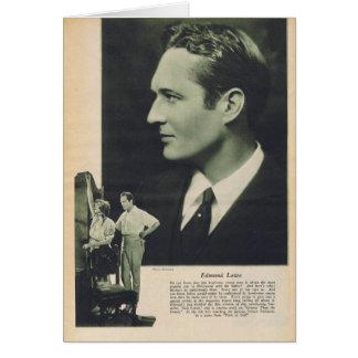 Carte Edmund Lowe 1925