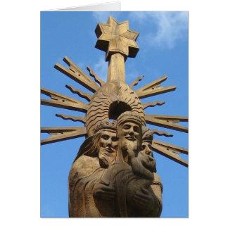 Carte Église de statue de St George, Vilkija, LITHUANIE