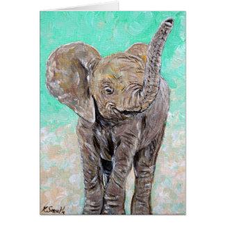 Carte Éléphant de bébé