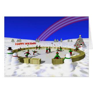 Carte Elfes de patinage