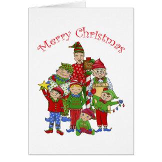 Carte Elfes de tintement