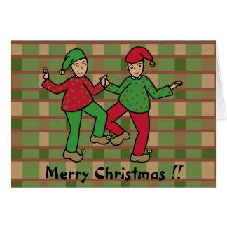 Carte Elfes heureux