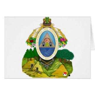 Carte emblème du Honduras