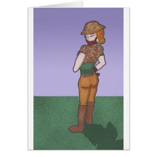Carte Emma, caractère de galerie d'art d'Anime
