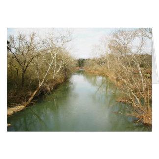 Carte En bas de la rivière