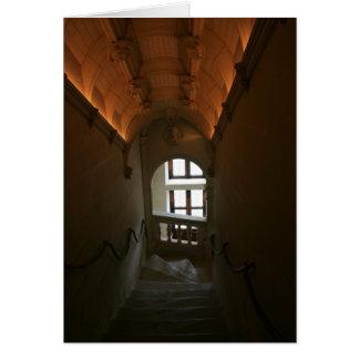 Carte En bas des escaliers