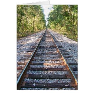 Carte En bas des voies ferrées
